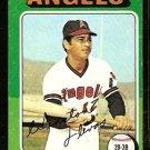 CALIFORNIA ANGELS WINSTON LLENAS 1975 TOPPS # 597 G