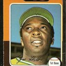OAKLAND ATHLETICS JIM HOLT 1975 TOPPS # 607 VG/EX