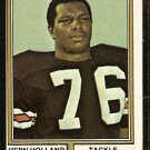 CHICAGO BEARS VERN HOLLAND 1974 TOPPS # 486 VG/EX