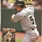 SAN FRANCISCO GIANTS BARRY BONDS HOUSTON ASTROS JEFF BAGWELL 1994 PINUP PHOTOS