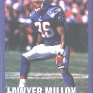 NEW ENGLAND PATRIOTS LAWYER MILLOY 2000 PINUP PHOTO