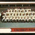 CINCINNATI REDS TEAM CARD 1974 TOPPS # 459 VG+