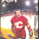 CALGARY FLAMES THEO FLEURY 1991 PINUP PHOTO #2