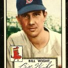 BOSTON RED SOX BILL WIGHT 1952 TOPPS # 177 EX