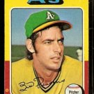 OAKLAND ATHLETICS BILL PARSONS 1975 TOPPS # 613 VG