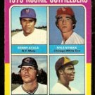 ROOKIE O.F. METS AYALA WHITE SOX NYMAN INDIANS SMITH PADRES TURNER 1975 TOPPS # 619 VG