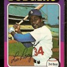 LOS ANGELES DODGERS LEE LACY 1975 TOPPS # 631 G/VG