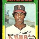CALIFORNIA ANGELS MORRIS NETTLES 1975 TOPPS # 632 VG