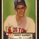 BOSTON RED SOX MAURICE McDERMOTT 1952 TOPPS # 119