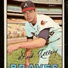 ATLANTA BRAVES DICK KELLEY 1967 TOPPS # 138 EX