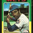 NEW YORK METS TED MARTINEZ 1975 TOPPS # 637 G/VG