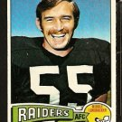 OAKLAND RAIDERS DAN CONNERS 1975 TOPPS # 52 NR MT