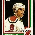 NEW JERSEY DEVILS KIRK MULLER 1986 TOPPS # 94