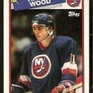 NEW YORK ISLANDERS RANDY WOOD 1988 TOPPS # 140
