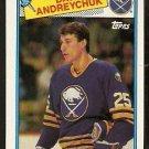 BUFFALO SABRES DAVE ANDREYCHUK 1988 TOPPS # 163
