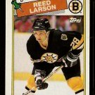 BOSTON BRUINS REED LARSON 1988 TOPPS # 145