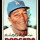 LOS ANGELES DODGERS WILLIE DAVIS 1967 TOPPS # 160 VG/EX