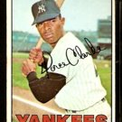 NEW YORK YANKEES HORACE CLARKE 1967 TOPPS # 169 G