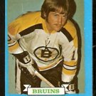 BOSTON BRUINS GREG SHEPPARD ROOKIE CARD RC 73/74 TOPPS # 8