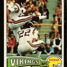 MINNESOTA VIKINGS FRED COX 1975 TOPPS # 53 NR MT