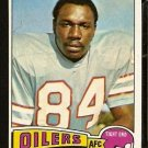 HOUSTON OILERS MACK ALSTON 1975 TOPPS # 64 EX MT