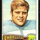 SAN DIEGO CHARGERS CARL MAUCK 1975 TOPPS # 96 EX