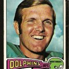 MIAMI DOLPHINS BOB GRIESE 1975 TOPPS # 100 VG