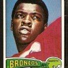 DENVER BRONCOS BILL THOMPSON 1975 TOPPS # 104 EM/NM