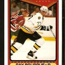 BOSTON BRUINS RAY BOURQUE A.S. 1990 TOPPS # 196
