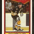 BOSTON BRUINS CAM NEELY A.S. 90/91 TOPPS # 201