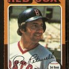 BOSTON RED SOX RICO PETROCELLI 1975 TOPPS # 356 NR MT