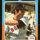 BOSTON RED SOX BERNIE CARBO 1975 TOPPS # 379 NR MT
