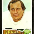 PHILADELPHIA EAGLES NORM BULAICH 1975 TOPPS # 108 EM/NM