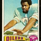 HOUSTON OILERS TODY SMITH 1975 TOPPS # 112 VG/EX