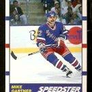 NEW YORK RANGERS MIKE GARTNER SPEEDSTER 1990 SCORE # 333