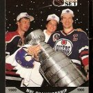 EDMONTON OILERS MARK MESSIER STANLEY CUP CHAMPIONS 1990 PRO SET # 704