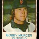 SAN FRANCISCO GIANTS BOBBY MURCER 1975 HOSTESS # 141