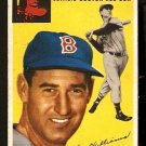 BOSTON RED SOX TED WILLIAMS 1954 TOPPS # 250