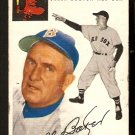BOSTON RED SOX DEL BAKER 1954 TOPPS # 133 VG