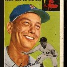 BOSTON RED SOX BUSTER MILLS 1954 TOPPS # 227 Good