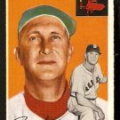 BOSTON RED SOX PAUL SCHREIBER 1954 TOPPS # 217 VG/EX