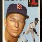 BOSTON RED SOX ELLIS KINDER 1954 TOPPS # 47 EX