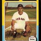 BOSTON RED SOX BOB MONTGOMERY 1975 TOPPS # 559 NR MT