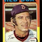 BOSTON RED SOX TIM McCARVER 1975 TOPPS # 586 NR MT