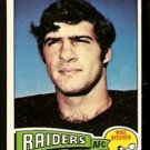 OAKLAND RAIDERS MIKE SIANI 1975 TOPPS # 151 EM