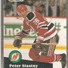 NEW JERSEY DEVILS PETER STASTNY 1991 PRO SET # 143