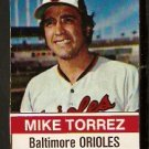 BALTIMORE ORIOLES MIKE TORREZ 1976 HOSTESS # 139