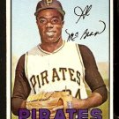 PITTSBURGH PIRATES AL McBEAN 1967 TOPPS # 203 VG+/EX