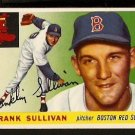 BOSTON RED SOX FRANK SULLIVAN 1955 TOPPS # 106 EX/EM