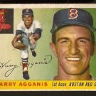 BOSTON RED SOX HARRY AGGANIS ROOKIE CARD RC 1955 TOPPS # 152 good